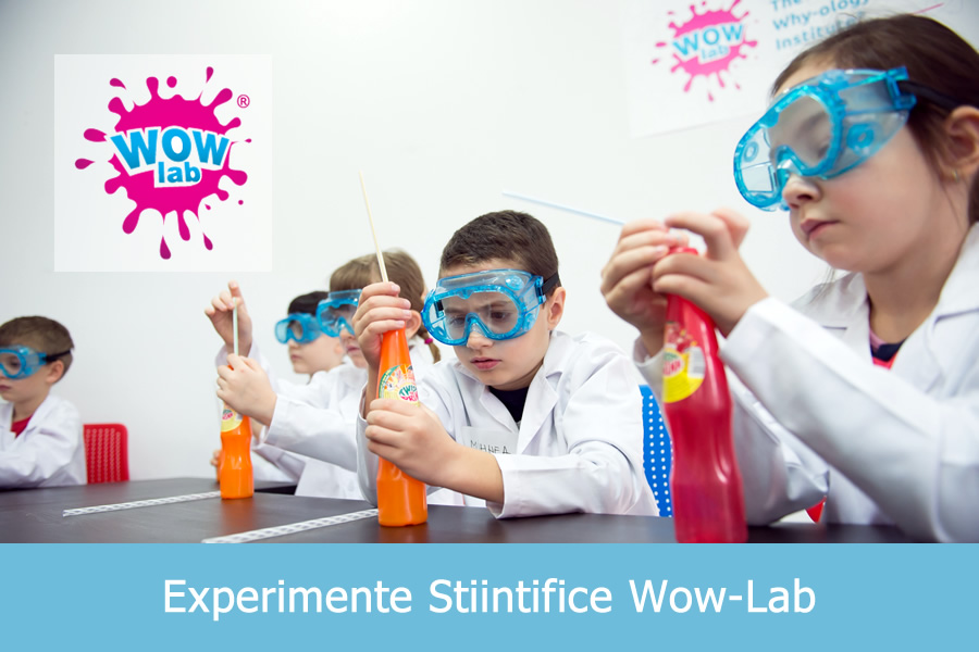 Experimente Stiintifice Wow-Lab